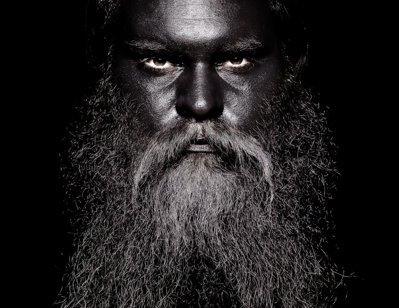 Kurt Remling Fotograf Giant Black Beard Patrick Patches (1)